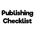 Publishing Checklist